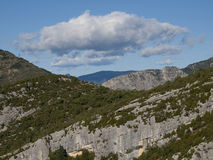The Gorges du Verdon in France Stock Images