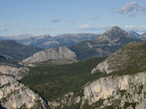 The Gorges du Verdon in France Royalty Free Stock Images