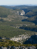 The Gorges du Verdon in France Royalty Free Stock Photography