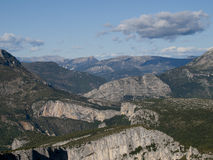 The Gorges du Verdon in France Stock Image