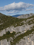 The Gorges du Verdon in France Stock Photography