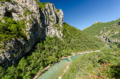 Gorges du Verdon, France Royalty Free Stock Image