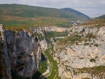 The Gorges du Verdon in France. Stock Photo