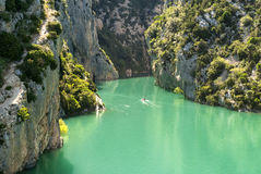 Gorges du Verdon (Frances) images libres de droits