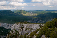 Gorges du Verdon. The Grand Canyon of France, Gorges du Verdon Royalty Free Stock Photo