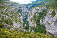 Gorges du Verdon,Provence in France, Europe. Royalty Free Stock Photo