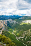 Gorges du Verdon,Provence in France, Europe. Stock Photography
