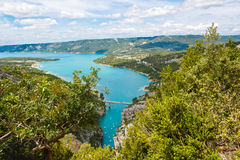 Gorges du Verdon,Provence in France, Europe. Beautiful view on l Stock Images