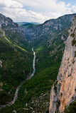 Gorges du Verdon. The Verdon river flows through the Gorges du Verdon Royalty Free Stock Images