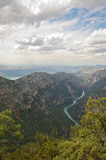 Gorges du Verdon western end. Gorges du Verdon Provence, France. western end of canyon Royalty Free Stock Photos