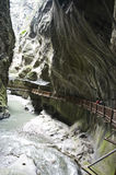 Gorges en Suisse photographie stock