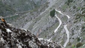 Gorges of Sagittarius, Scanno Abruzzo. The valley of Sagittarius, Scanno Abruzzo Italy stock video footage