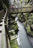 Gorges in Switzerland Stock Photos