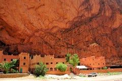 gorges todra Марокко стоковая фотография rf