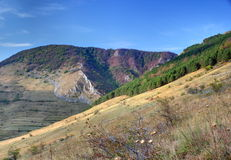 Gorges in Trascau mountains Stock Photography