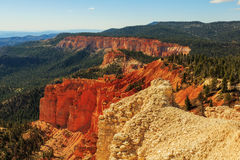 Gorgeus rockowa formacja bryce jar hoodoos park narodowy Zdjęcie Stock