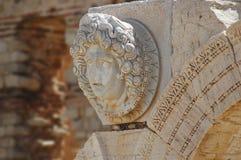 gorgon head s royaltyfri foto