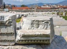 Gorgon Medusa Izmir Imágenes de archivo libres de regalías