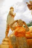 Gorgon statue Royalty Free Stock Photo