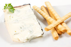 Gorgonzola cheese Royalty Free Stock Photography