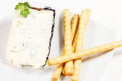 Gorgonzola cheese Royalty Free Stock Photos