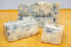 Gorgonzola-Käse Lizenzfreie Stockfotos