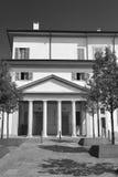 Gorgonzola Milaan: stadsvierkant royalty-vrije stock afbeeldingen