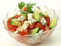 Gorgonzola salad Royalty Free Stock Photos