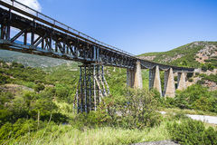 Gorgopotamos bridge Stock Photos