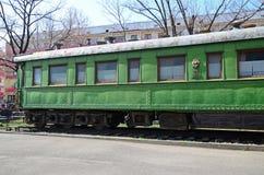 GORI, ΓΕΩΡΓΊΑ - 4 Μαρτίου 2015: Προσωπικό vagon του Joseph Στάλιν στο μουσείο του σε Gori, Γεωργία Στοκ εικόνες με δικαίωμα ελεύθερης χρήσης