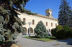GORI GEORGIA - mars 4, 2015: Museum av Joseph Stalin i hans infödda stad Gori, Georgia Arkivfoton