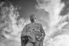 Gori, la Géorgie - 26 septembre 2017 : Monument au Chef soviétique Josef Stalin image libre de droits