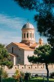 Gori, región de Shida Kartli, Georgia, Eurasia Catedral de la Virgen Mary In Sunny Summer de Bllessed foto de archivo libre de regalías