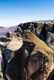 Gorila岩石在Marcahuasi,秘鲁 免版税图库摄影