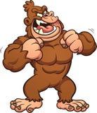 Gorila dos desenhos animados Imagem de Stock Royalty Free
