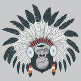 Gorila engraçado Fotografia de Stock