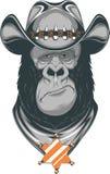 Gorila - vaqueiro Foto de Stock