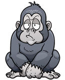 gorilla stock illustrationer