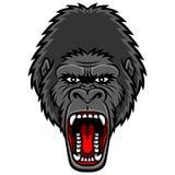 gorilla ilustração royalty free