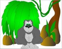 gorilla vektor abbildung