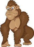 Gorilla cartoon Stock Photography