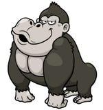 Gorilla Cartoon Lizenzfreie Stockfotografie