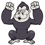 Gorilla Cartoon Stockbilder