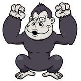 Gorilla Cartoon Stockbilder
