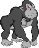 Gorilla Cartoon Photo libre de droits