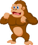 Gorilla cartoon Royalty Free Stock Photos