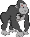 Gorilla cartoon Royalty Free Stock Photo