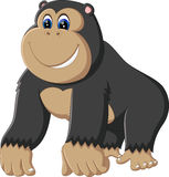 Gorilla cartoon Royalty Free Stock Images