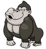 Gorilla Cartoon Royalty Free Stock Photography