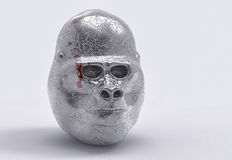 gorilla 3D Immagine Stock